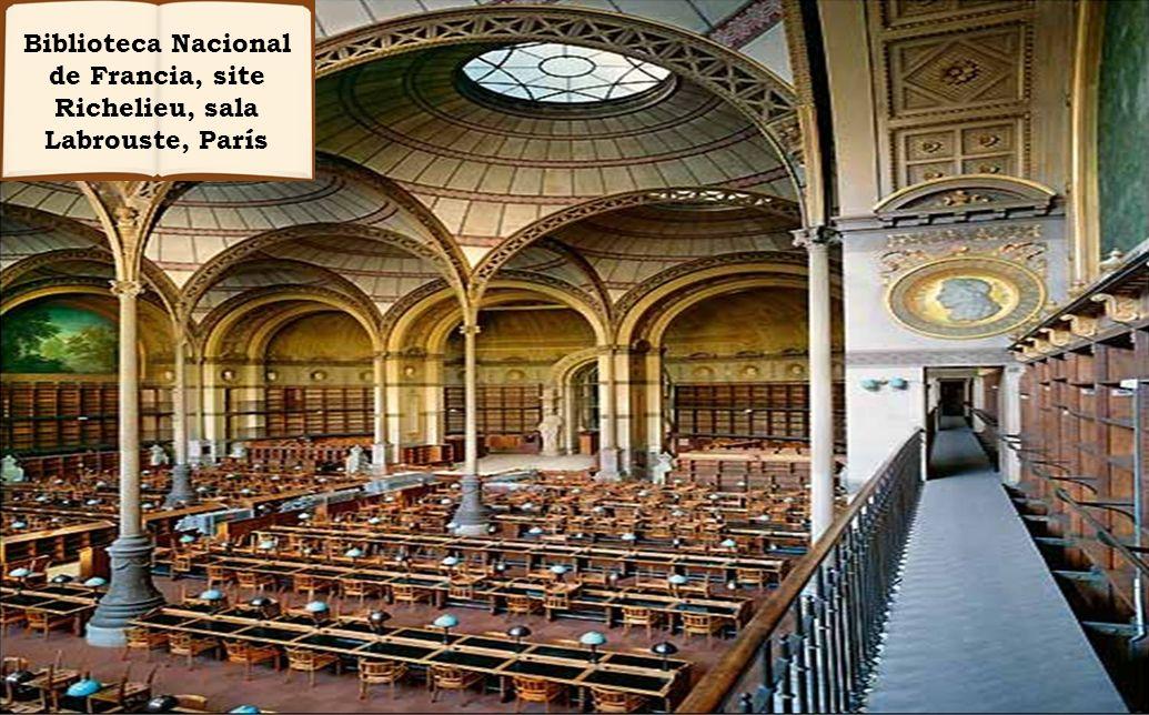 Biblioteca Nacional de Francia, site Richelieu, sala Labrouste, París