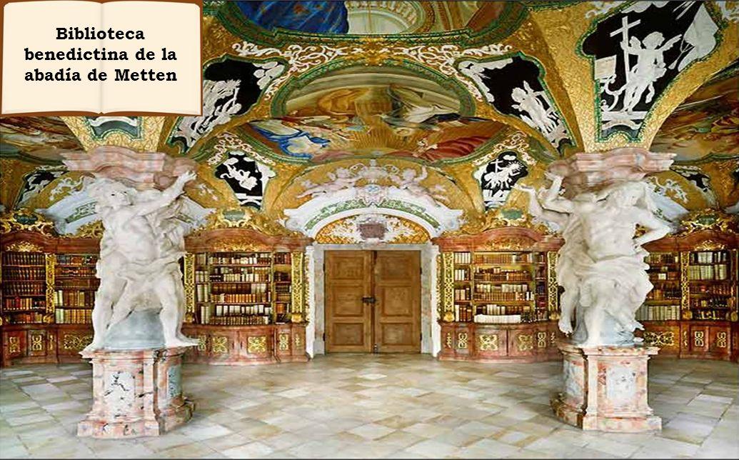 Biblioteca benedictina de la abadía de Metten