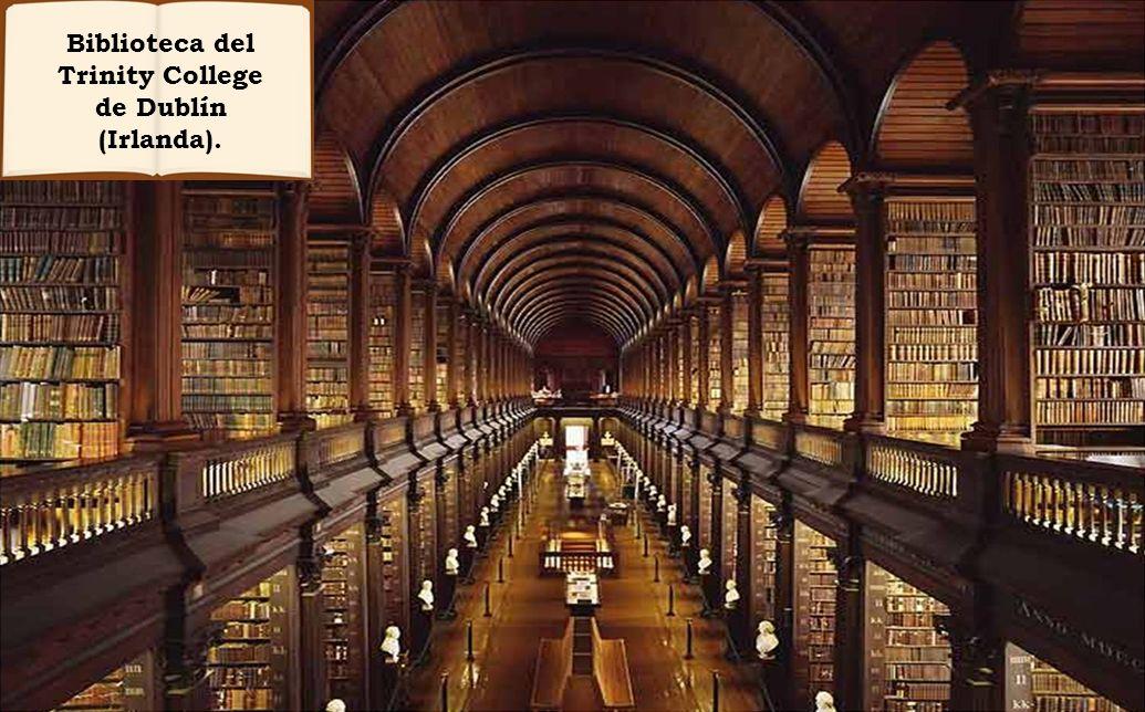 Biblioteca del Trinity College de Dublín (Irlanda).