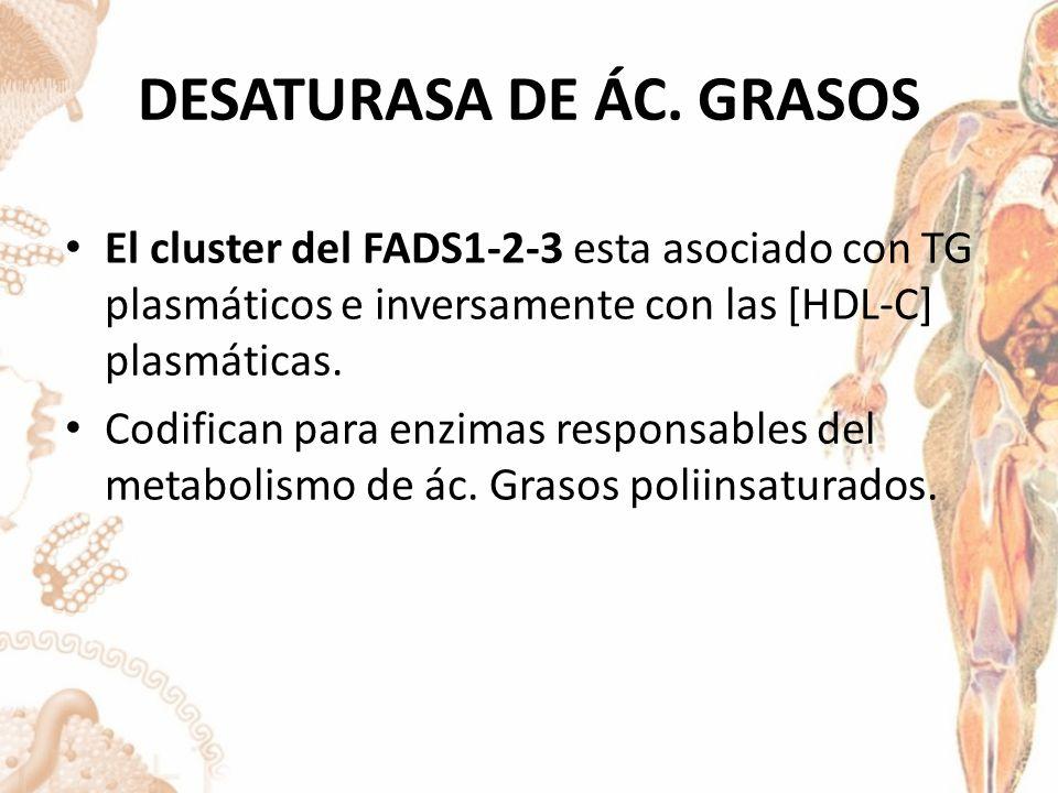 DESATURASA DE ÁC. GRASOS