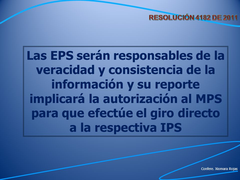 RESOLUCIÓN 4182 DE 2011