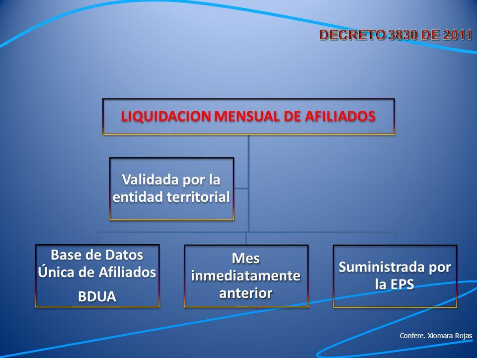 LIQUIDACION MENSUAL DE AFILIADOS