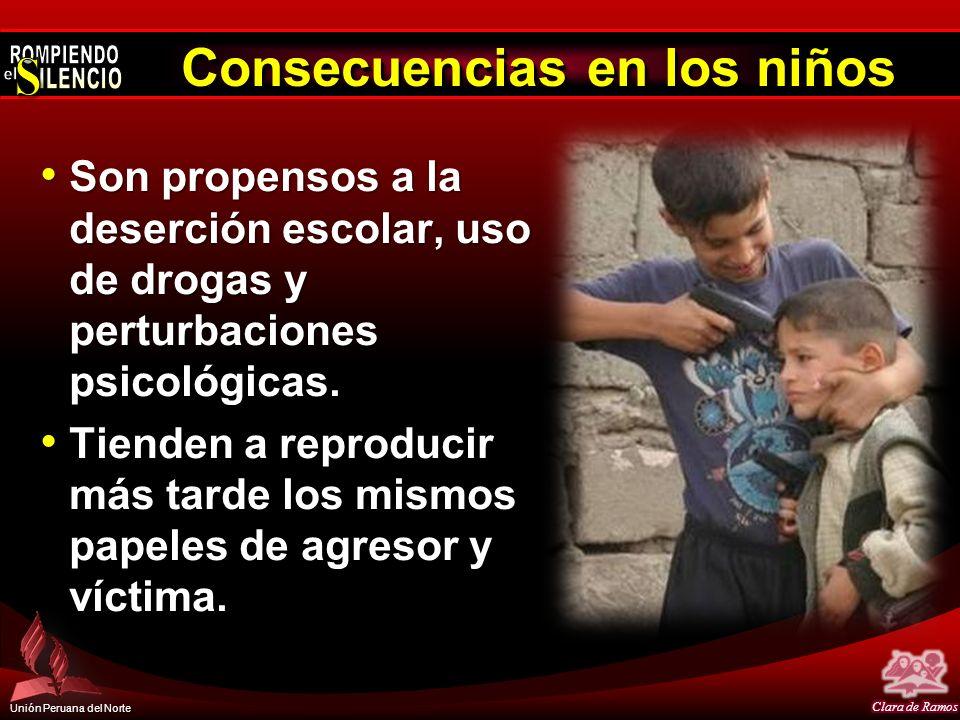 Consecuencias en los niños