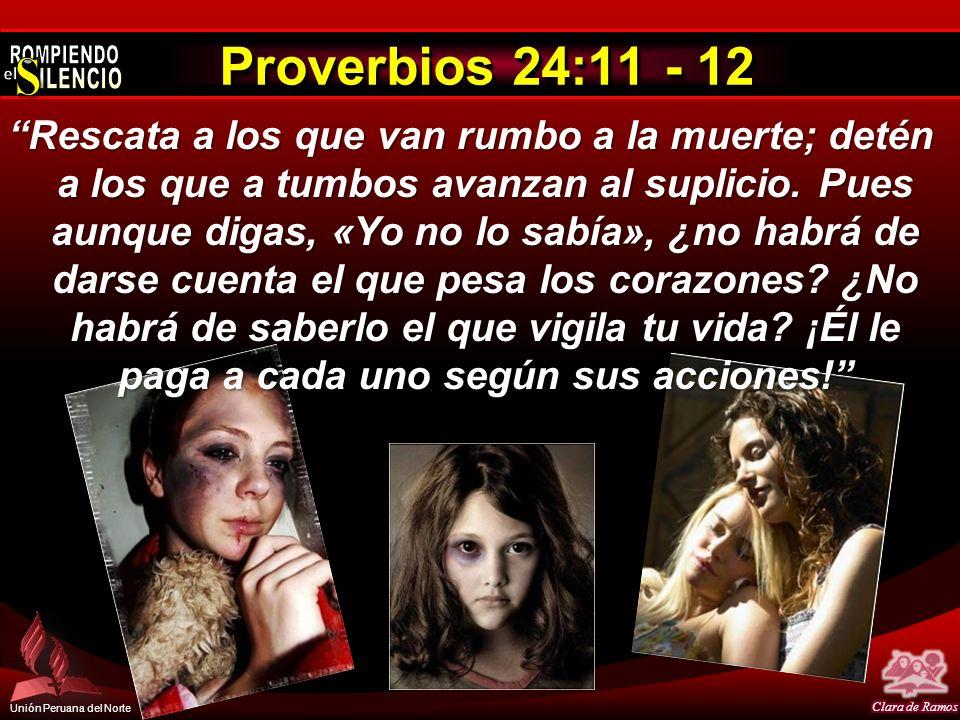Proverbios 24:11 - 12