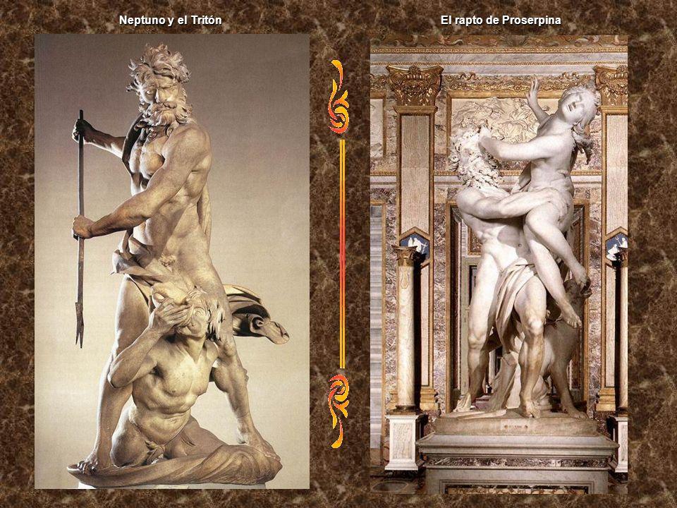 Neptuno y el Tritón El rapto de Proserpina