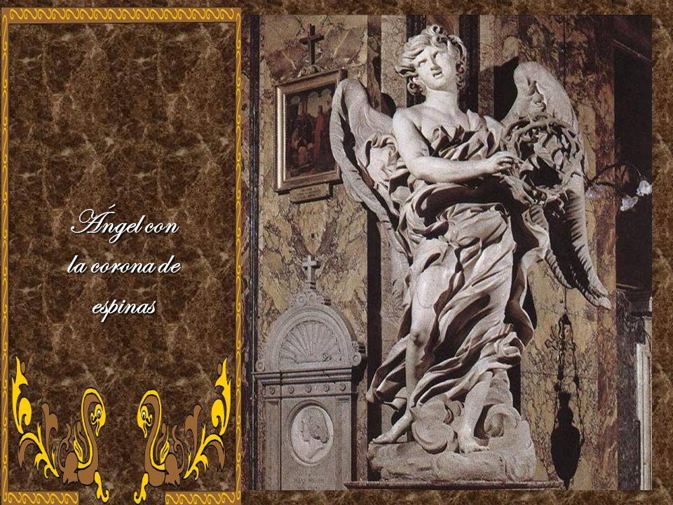 Ángel con la corona de espinas