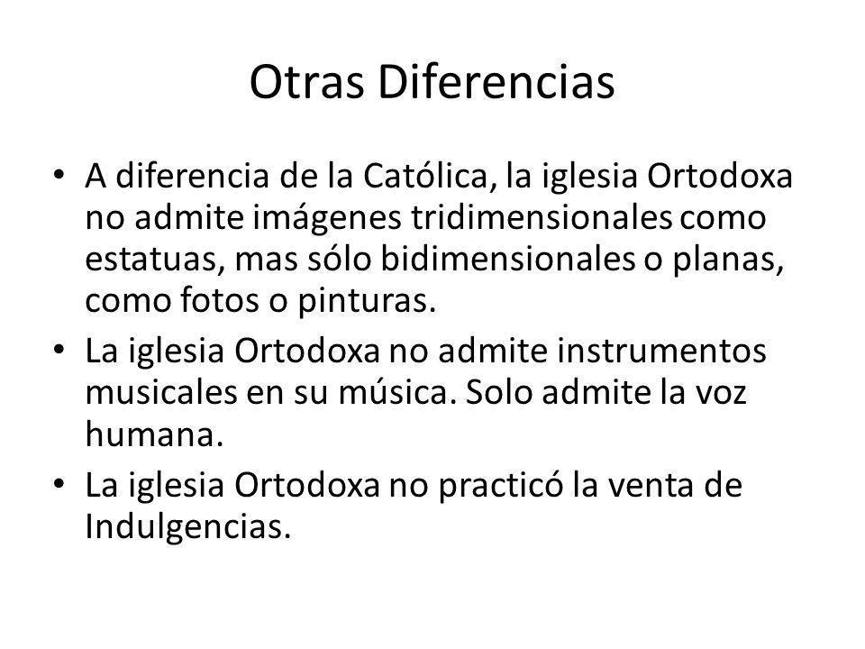 Otras Diferencias