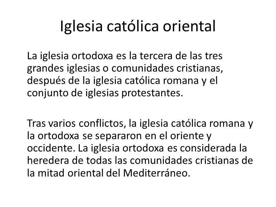 Iglesia católica oriental