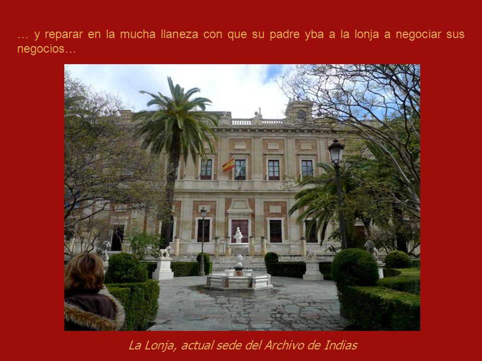 La Lonja, actual sede del Archivo de Indias