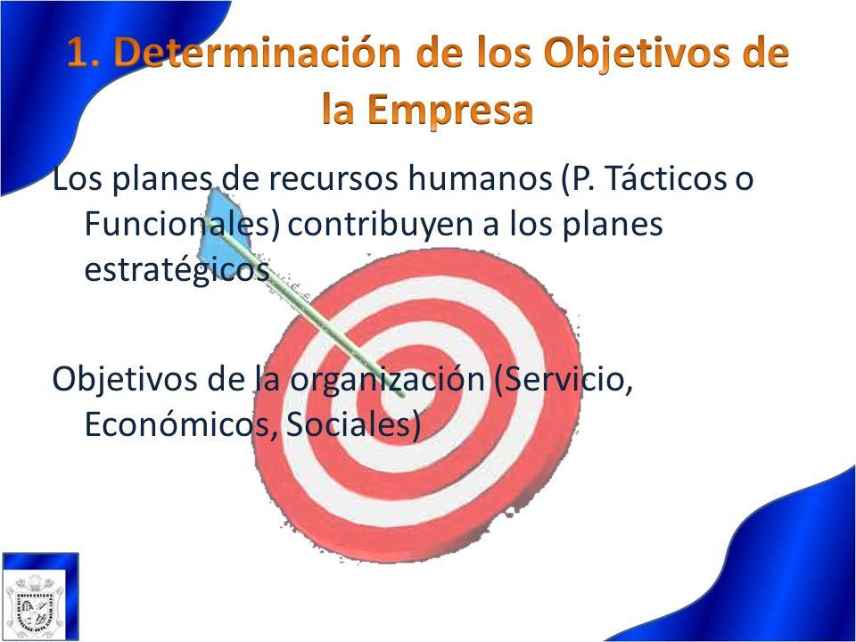1. Determinación de los Objetivos de la Empresa