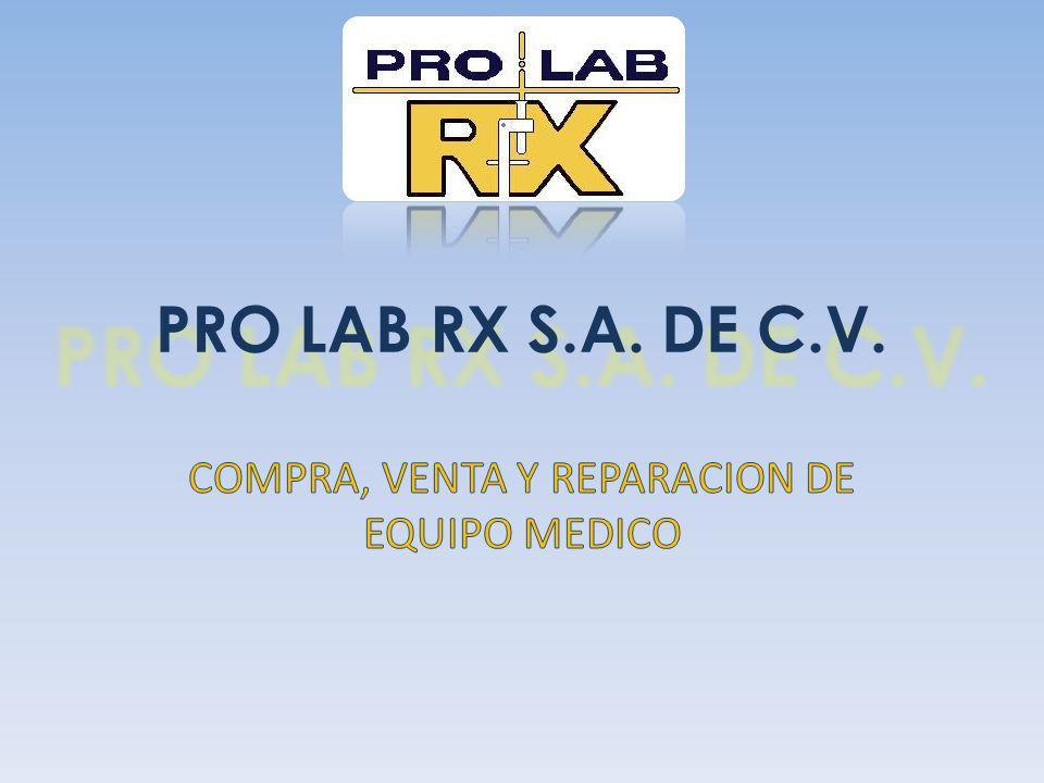 COMPRA, VENTA Y REPARACION DE EQUIPO MEDICO
