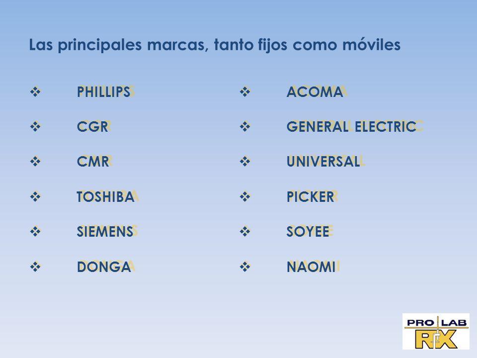 Las principales marcas, tanto fijos como móviles