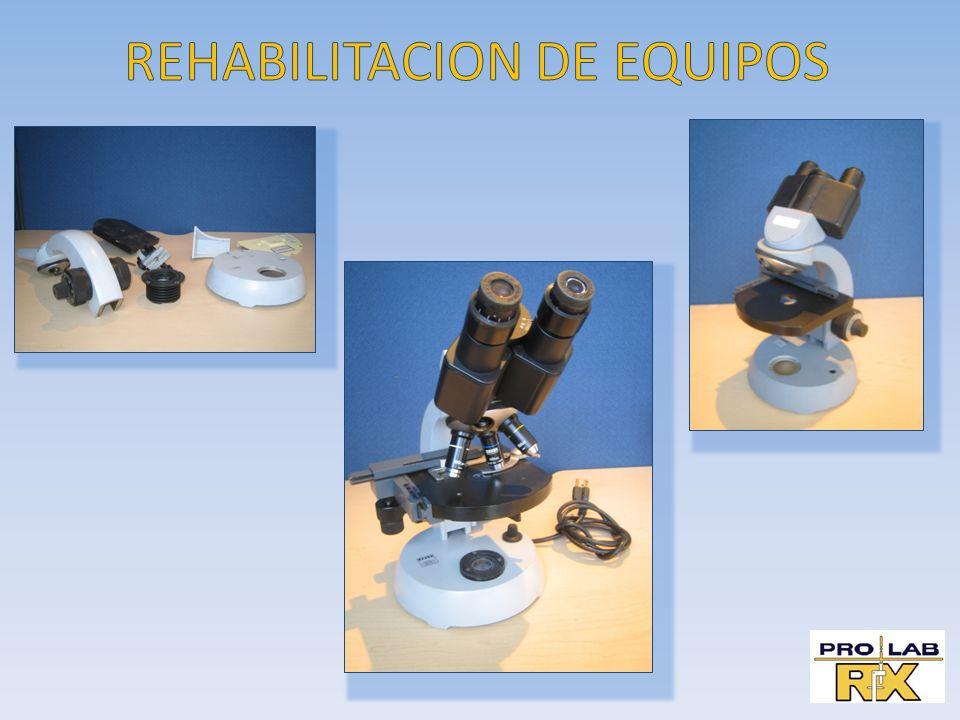 REHABILITACION DE EQUIPOS