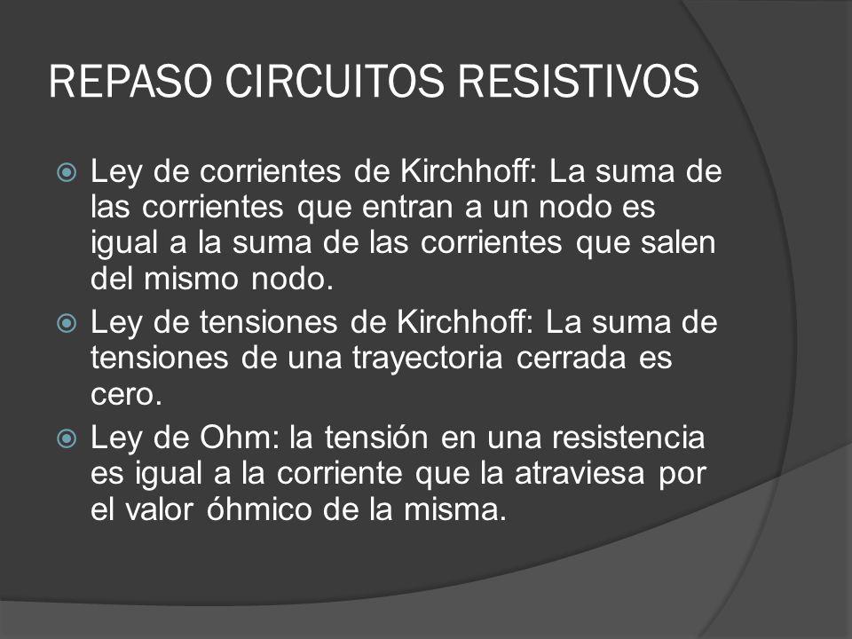 REPASO CIRCUITOS RESISTIVOS