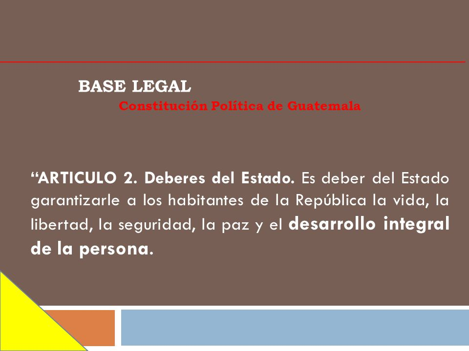 Constitución Política de Guatemala
