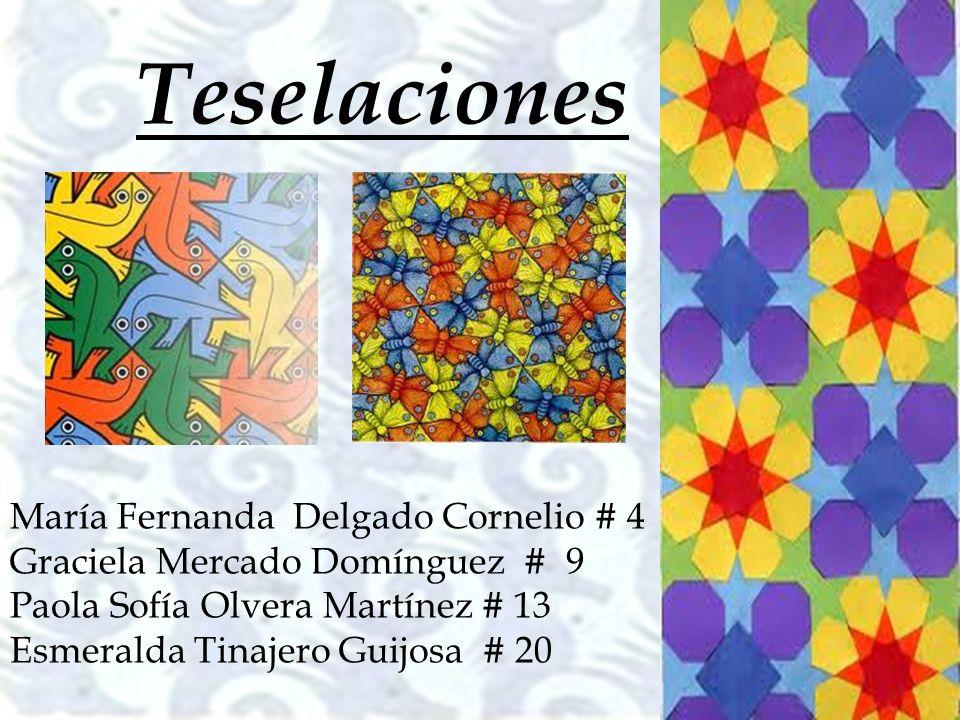 Teselaciones María Fernanda Delgado Cornelio # 4