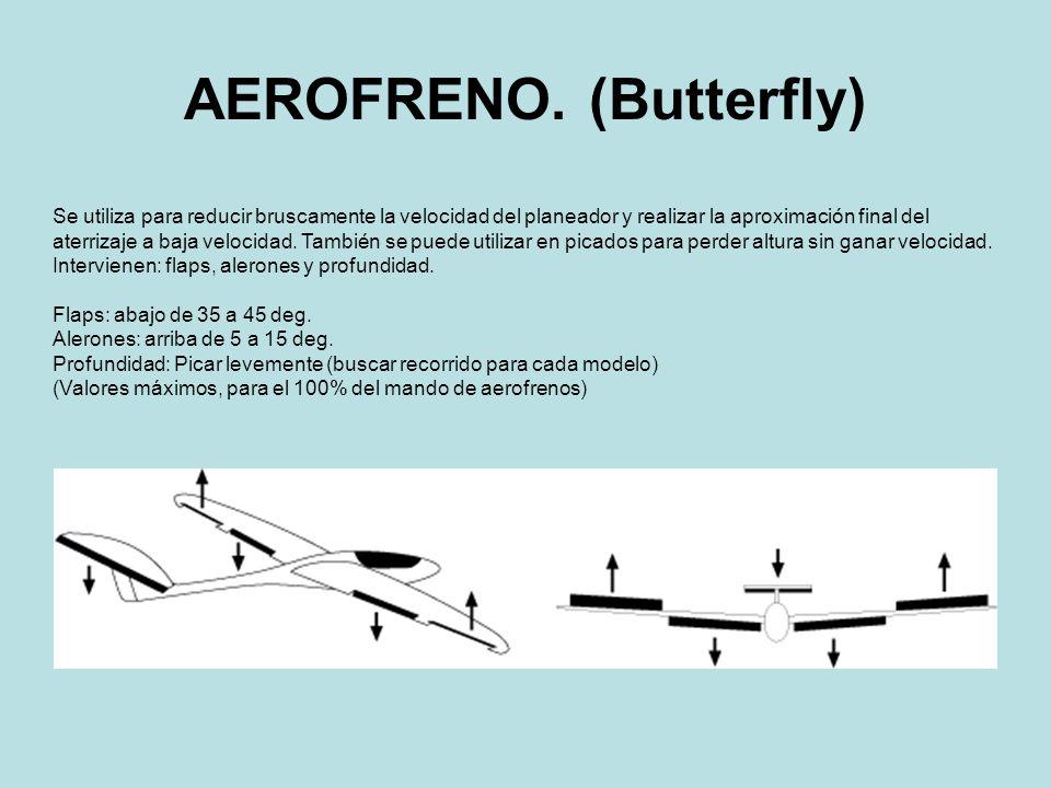 AEROFRENO. (Butterfly)