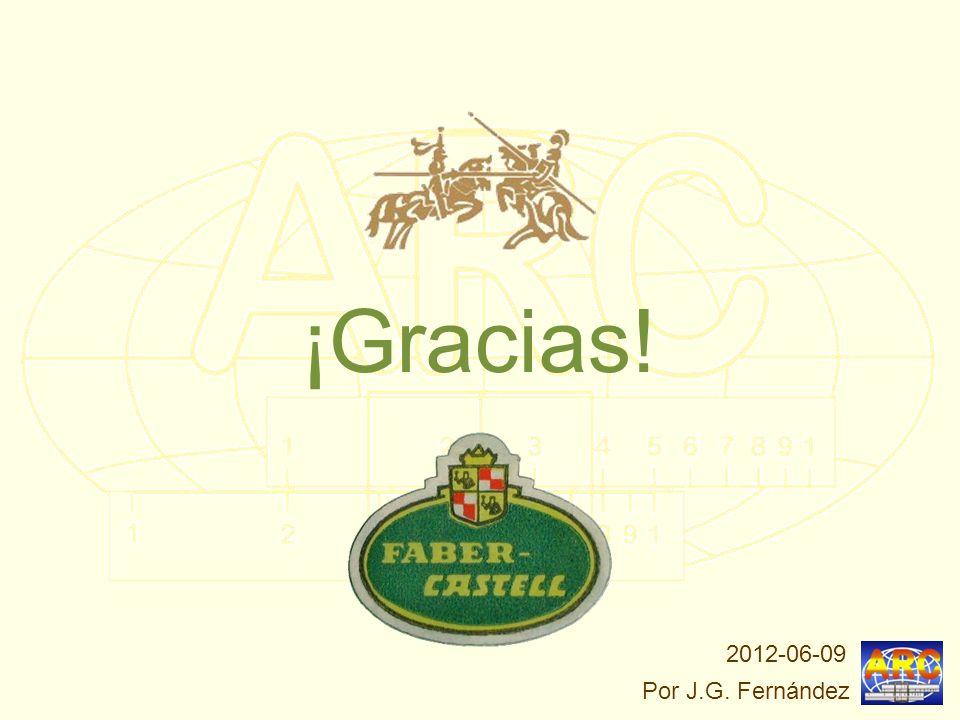 ¡Gracias! 2012-06-09 Por J.G. Fernández