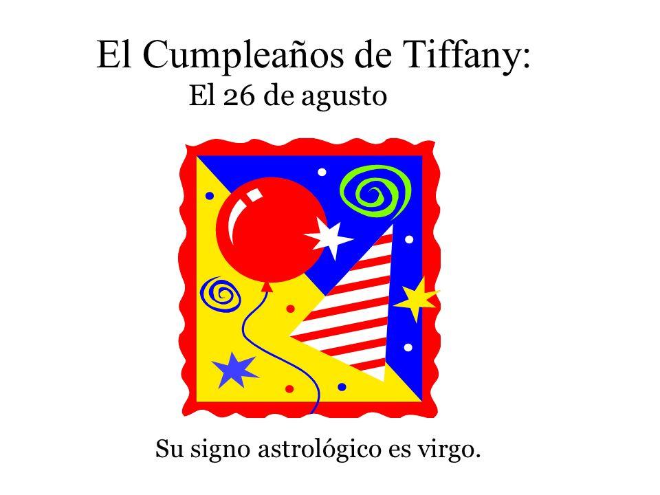 El Cumpleaños de Tiffany: