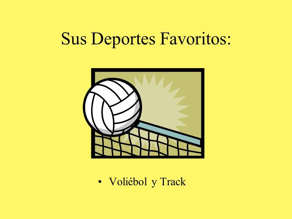 Sus Deportes Favoritos: