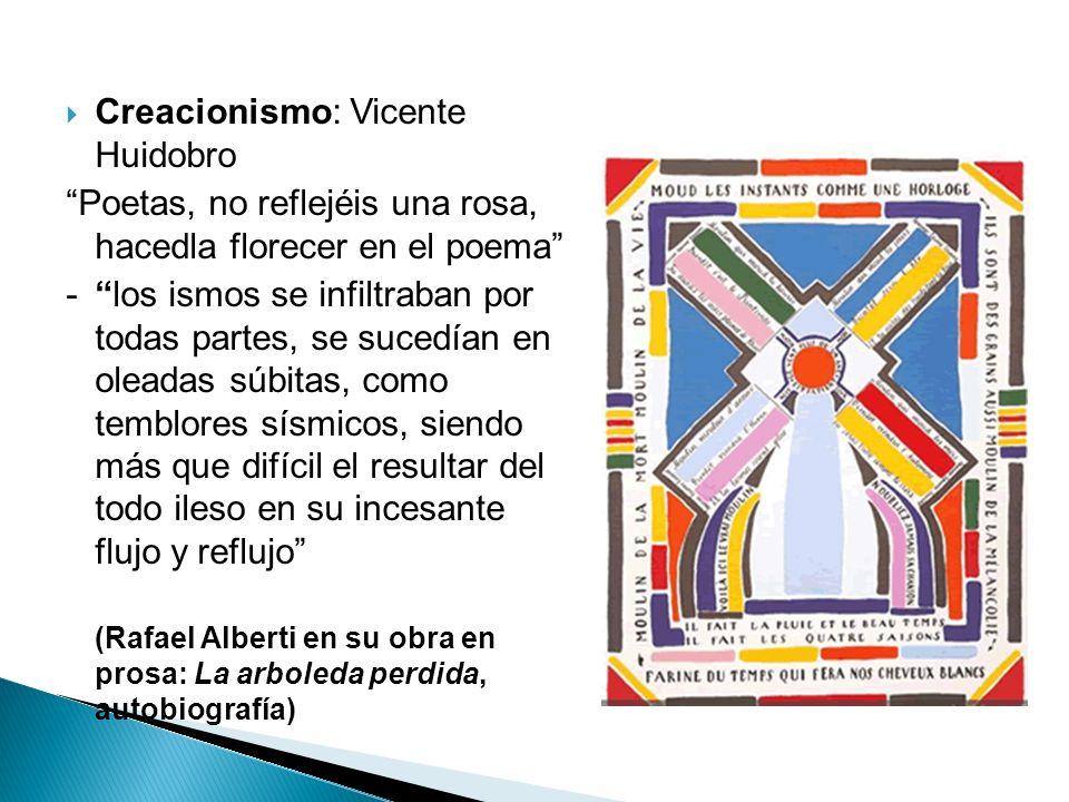 Creacionismo: Vicente Huidobro