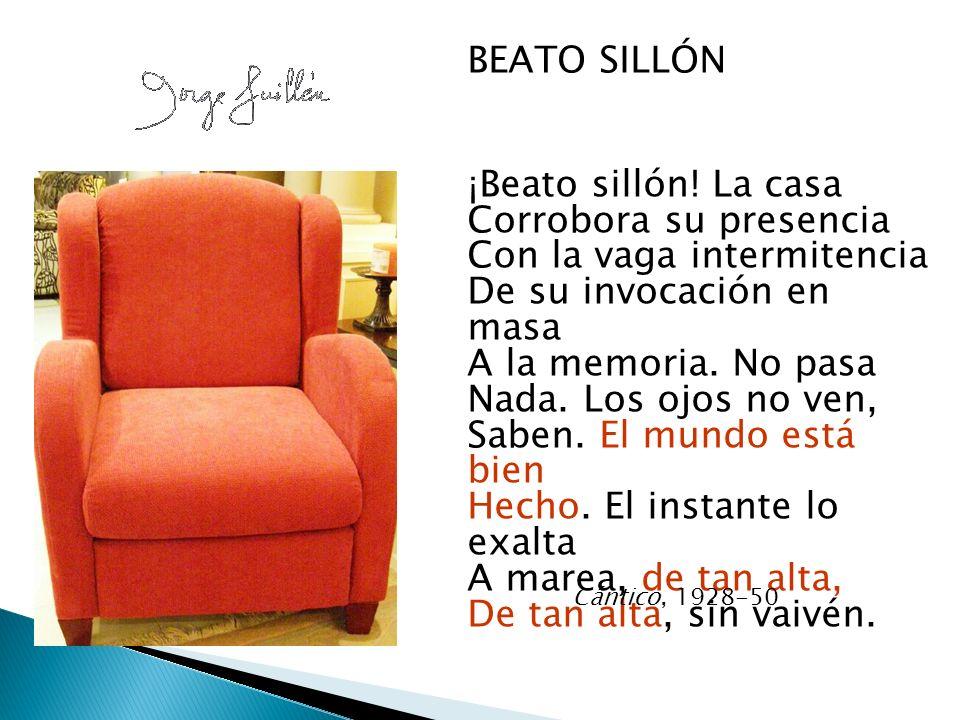 BEATO SILLÓN