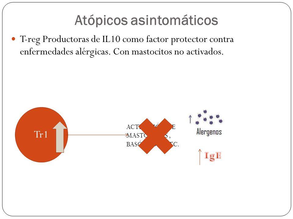Atópicos asintomáticos