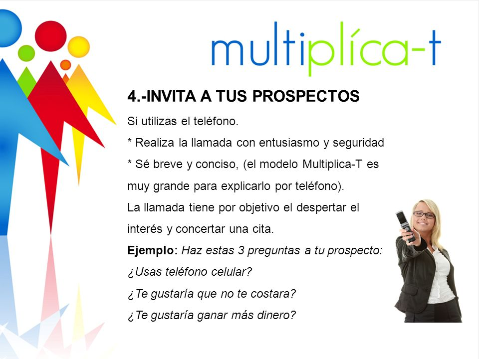 4.-INVITA A TUS PROSPECTOS