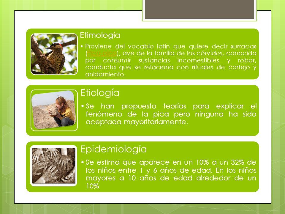 Etiología Epidemiología Etimología