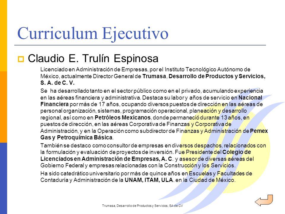 Trumasa, Desarrollo de Productos y Servicios, SA de CV