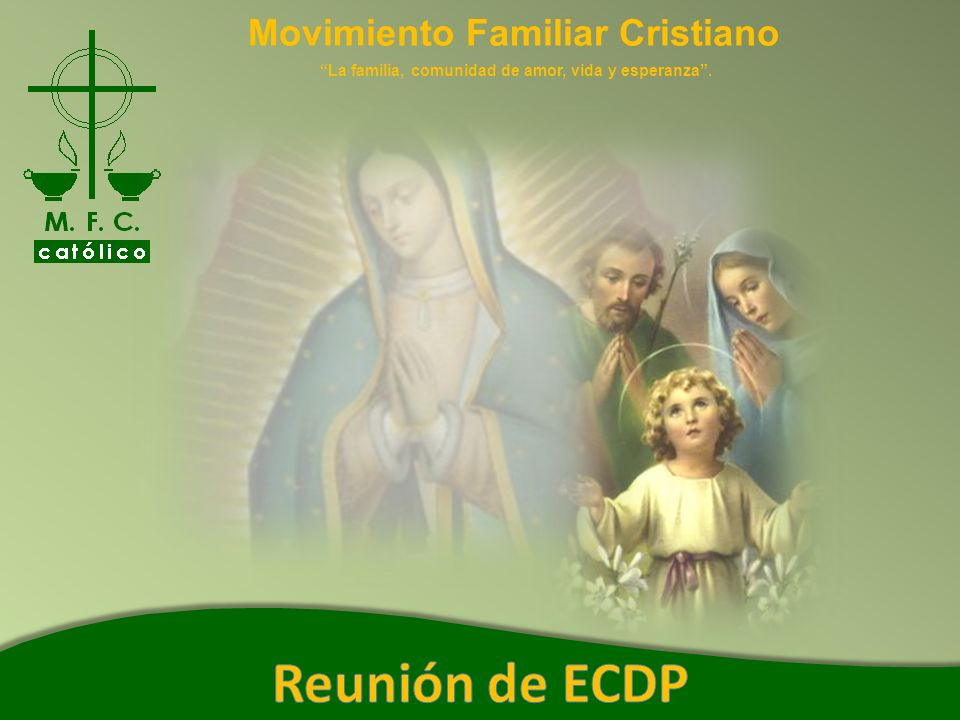 Reunión de ECDP Movimiento Familiar Cristiano