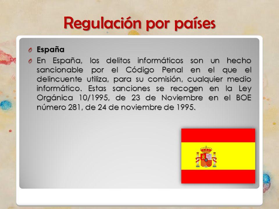 Regulación por países España
