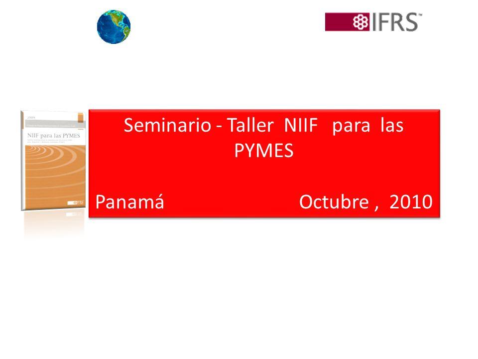 Seminario - Taller NIIF para las PYMES