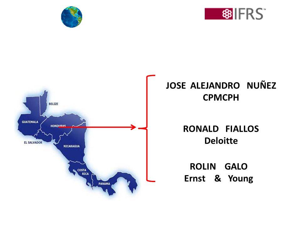 JOSE ALEJANDRO NUÑEZ CPMCPH RONALD FIALLOS Deloitte ROLIN GALO Ernst & Young