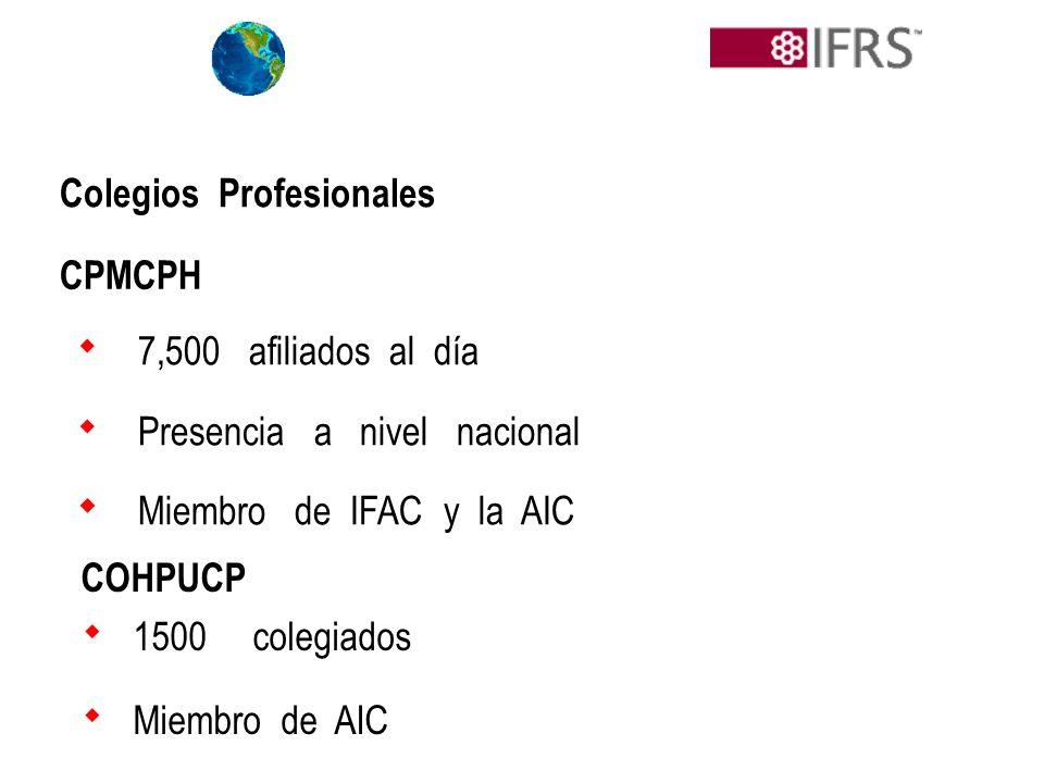  Presencia a nivel nacional  Miembro de IFAC y la AIC