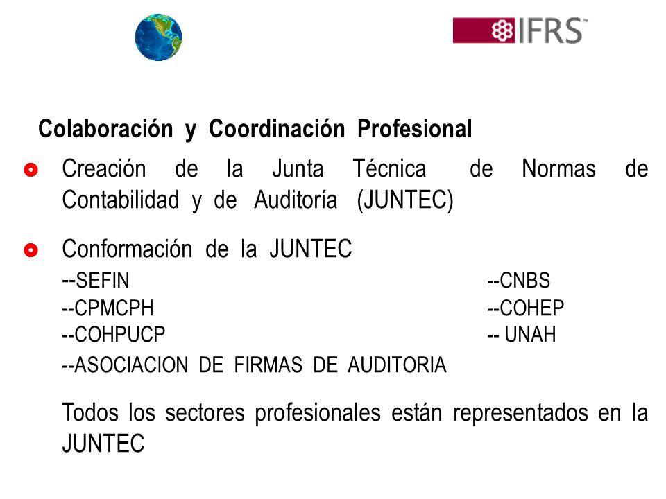Colaboración y Coordinación Profesional