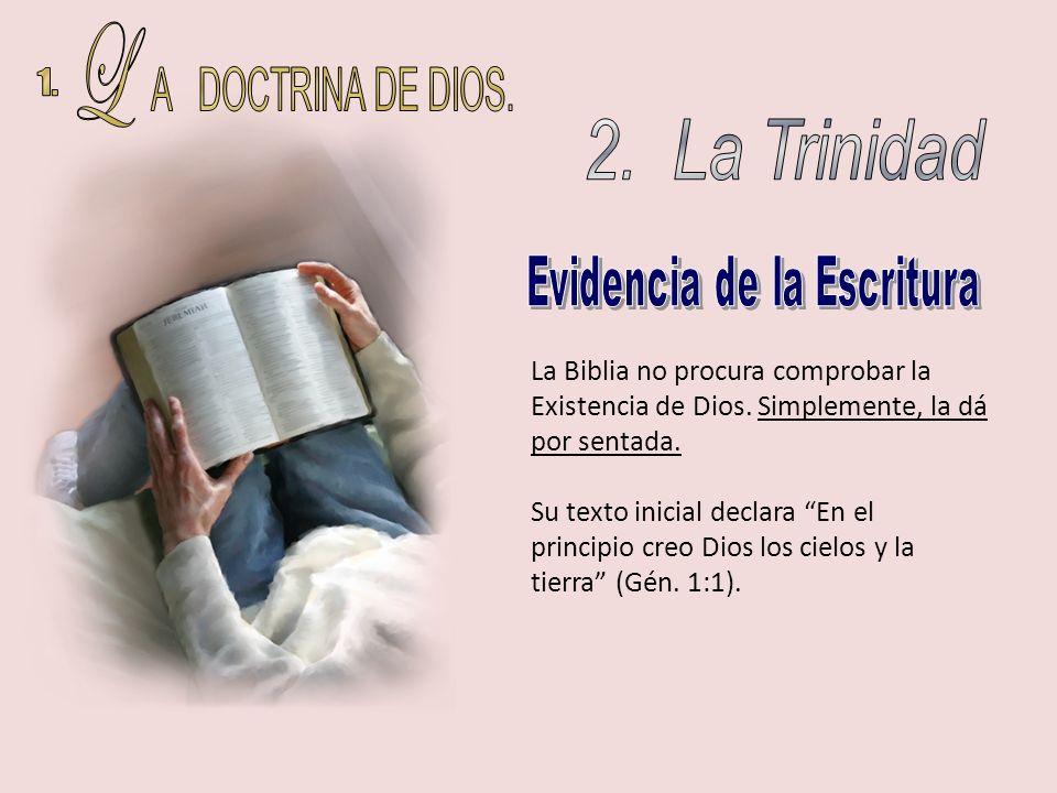 Evidencia de la Escritura