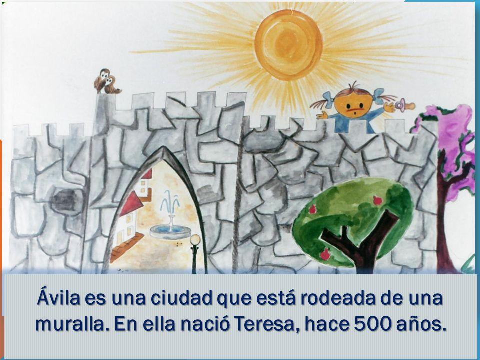 Ávila es una ciudad que está rodeada de una muralla