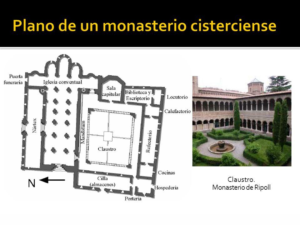 Claustro. Monasterio de Ripoll
