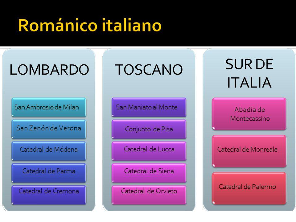SUR DE ITALIA LOMBARDO TOSCANO San Ambrosio de Milan