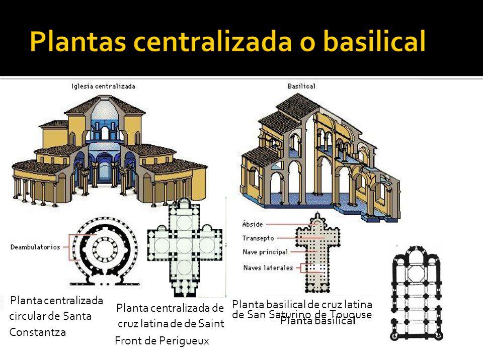 Planta basilical de San Martin de Fromista