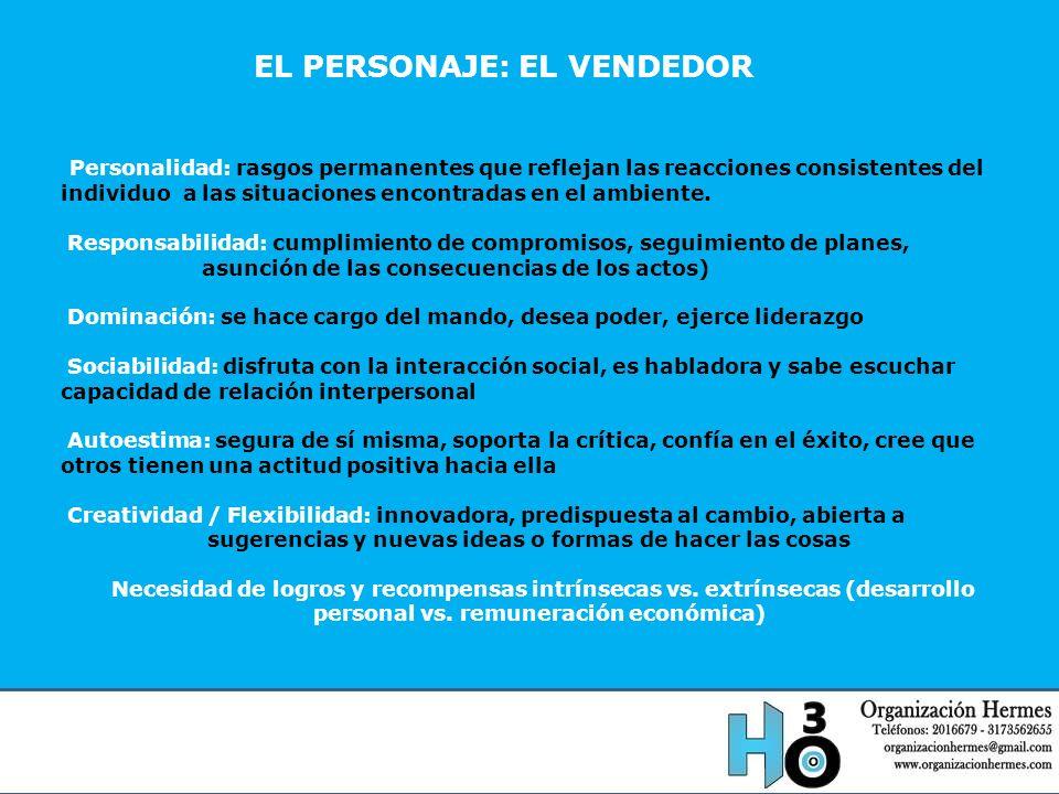 EL PERSONAJE: EL VENDEDOR