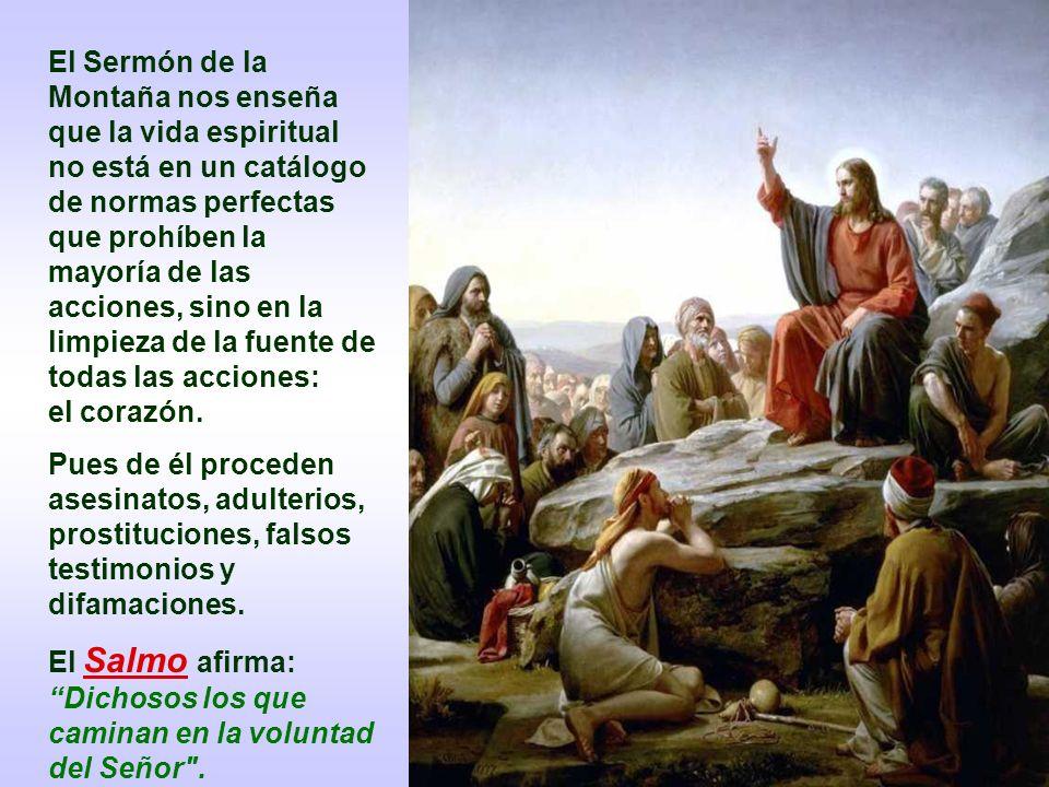 El Sermón de la Montaña nos enseña