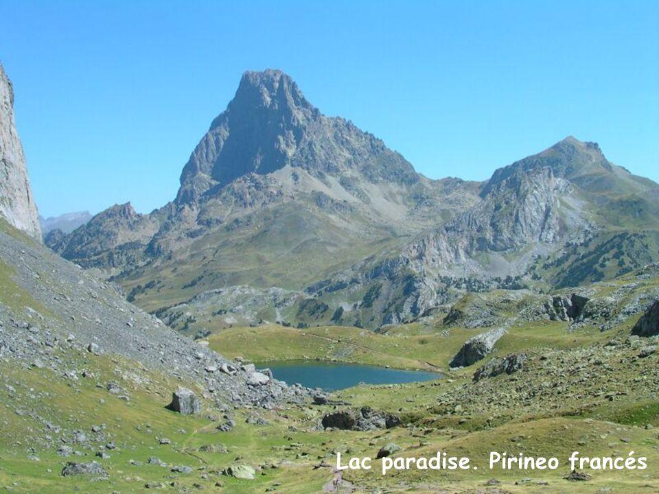 Lac paradise. Pirineo francés