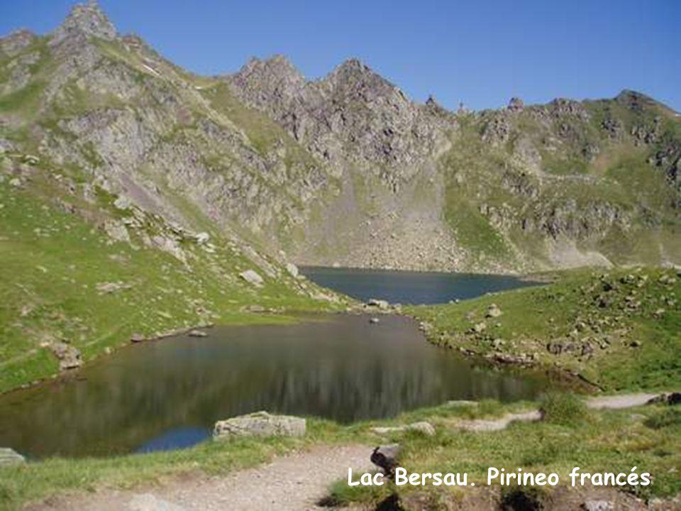 Lac Bersau. Pirineo francés