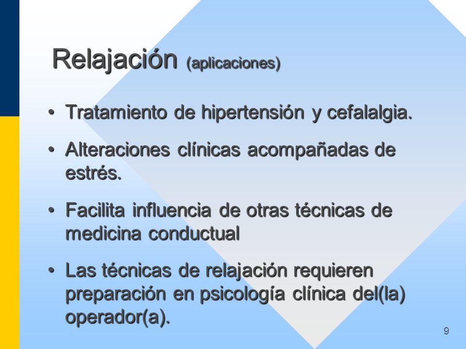 Relajación (aplicaciones)