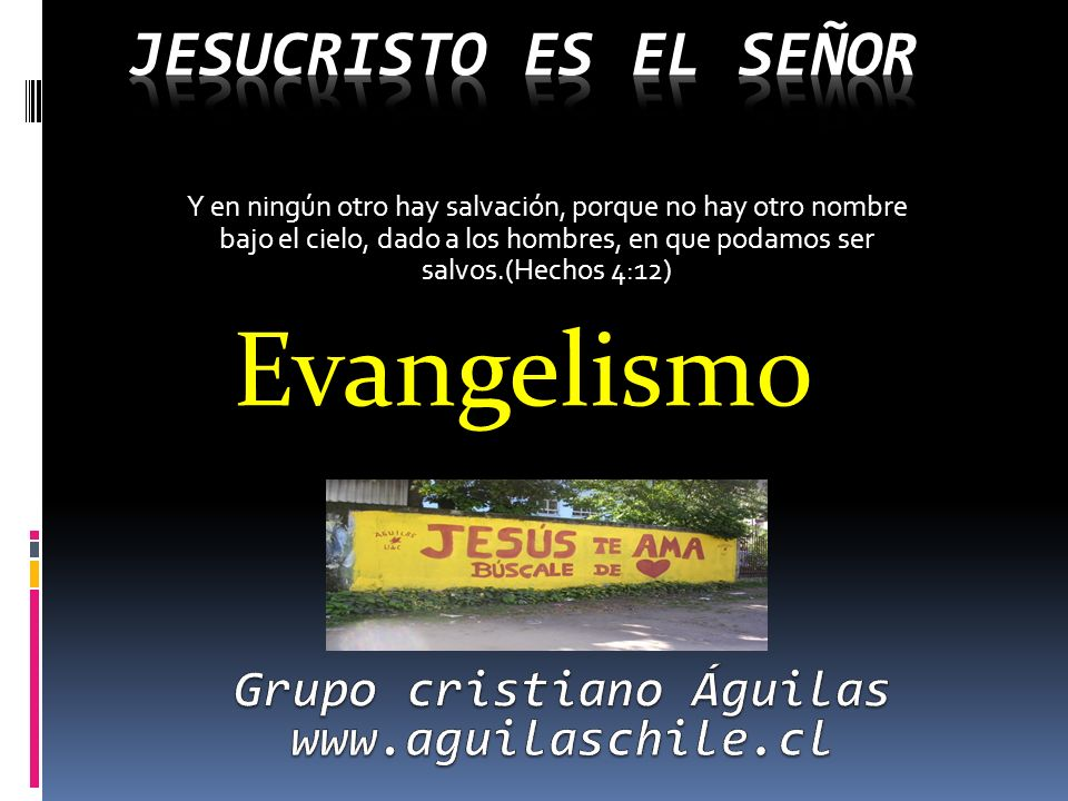 Grupo cristiano Águilas