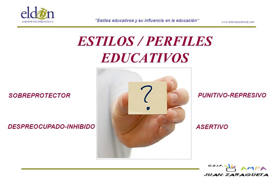 ESTILOS / PERFILES EDUCATIVOS