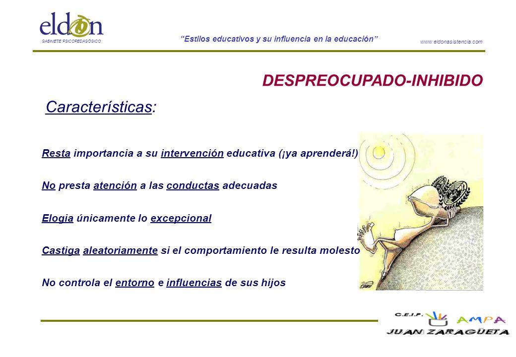 DESPREOCUPADO-INHIBIDO