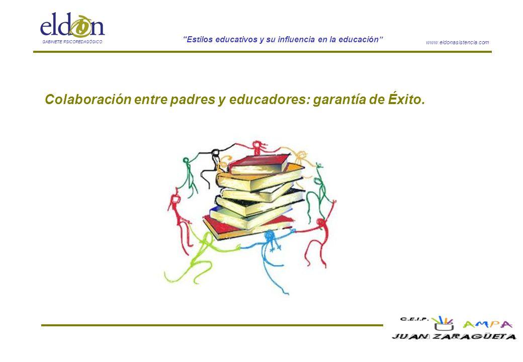 Colaboración entre padres y educadores: garantía de Éxito.
